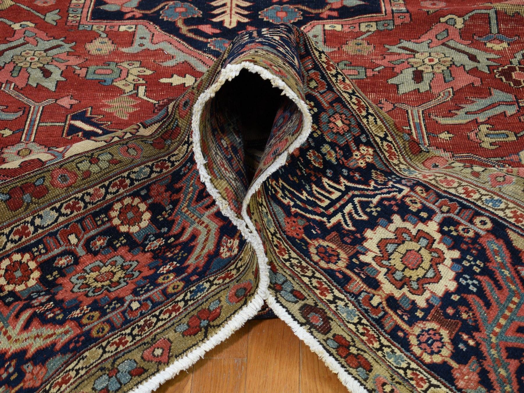 12 1 Quot X19 5 Quot Large Size Original Antique Persian Serapi